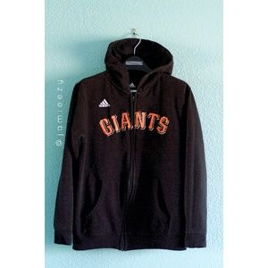 Adidas (Youth) | SF Giants Zip-Up Hoodie